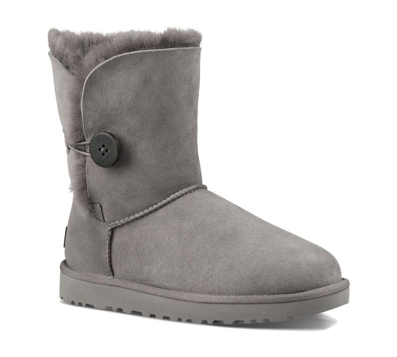 68256b730fe UGG Women's Bailey Button II Boot Grey