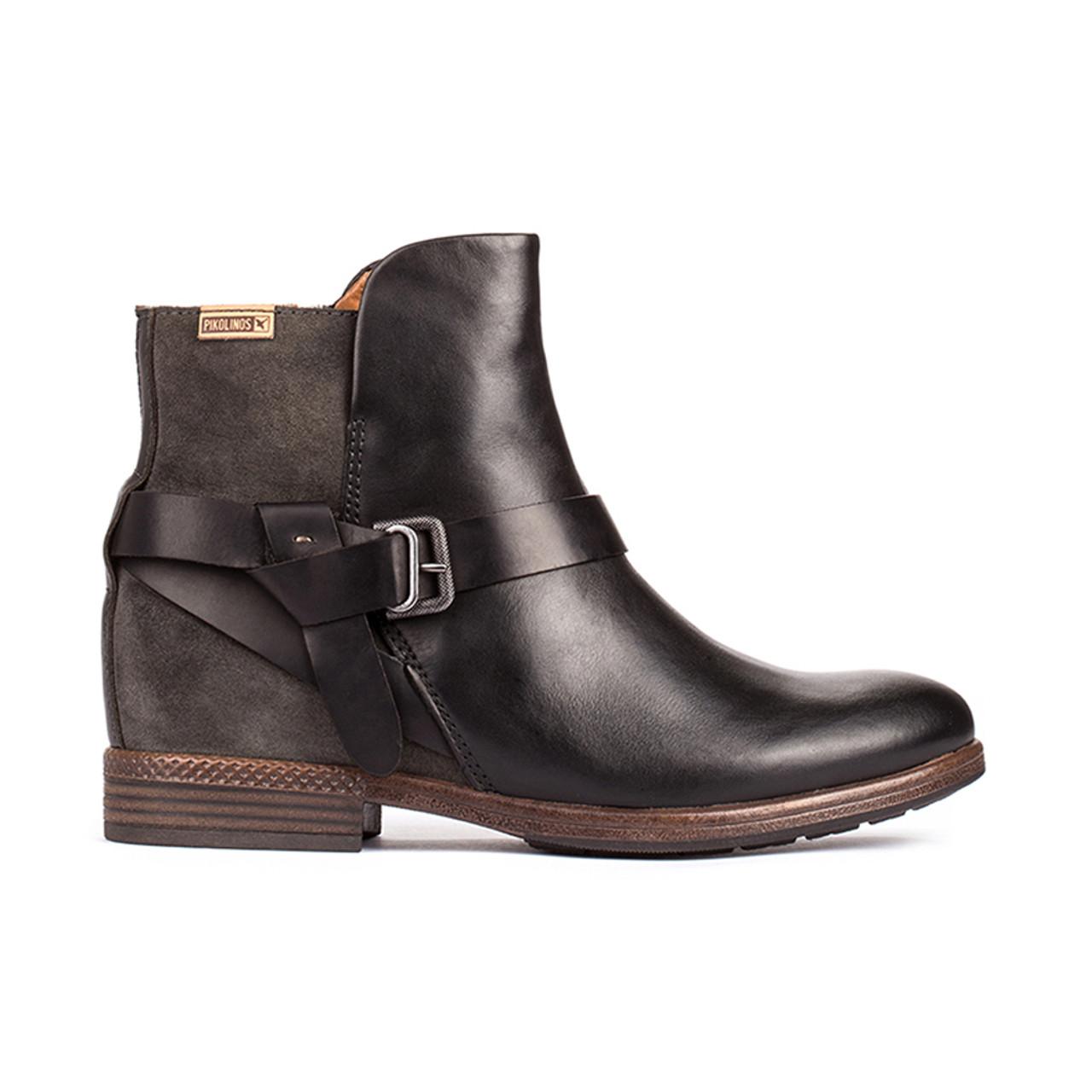 bcb2234b2ad2 Pikolinos Women s Ordino W8M-8919 Ankle Boot Black Lead - Shop now   Shoolu
