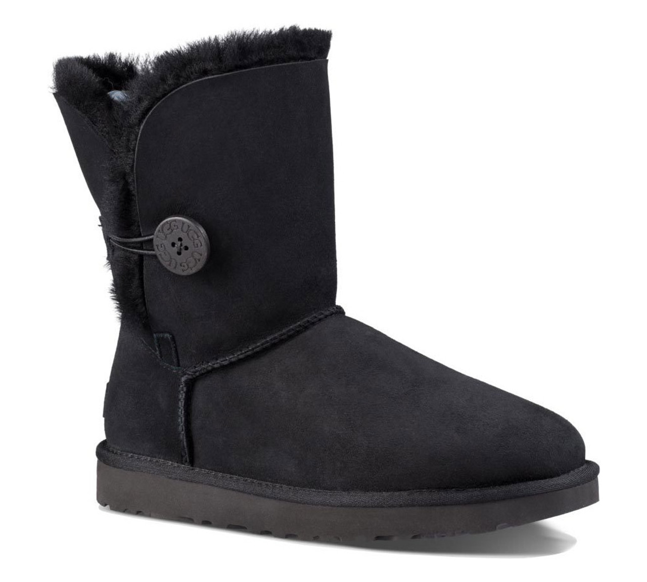 5593be1a4f0 UGG Women's Bailey Button II Boot Black