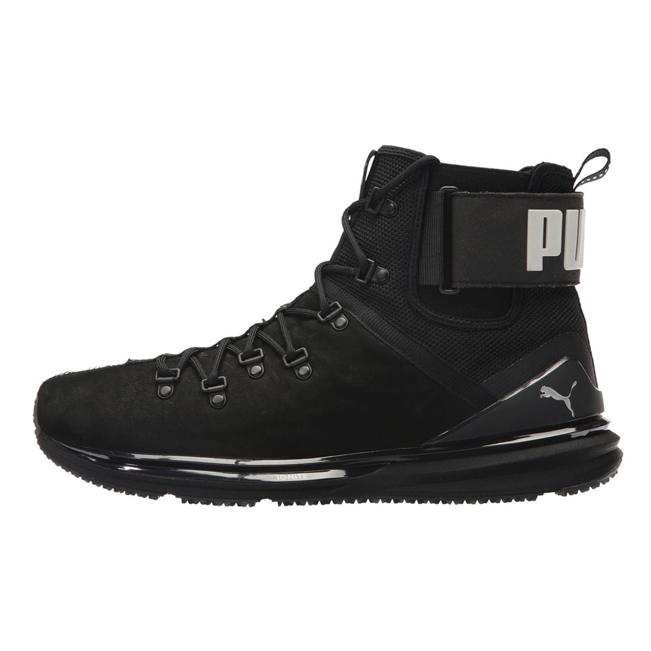 brand new 491b8 8caff Puma Men's Ignite Limitless Boot Leather Puma Black