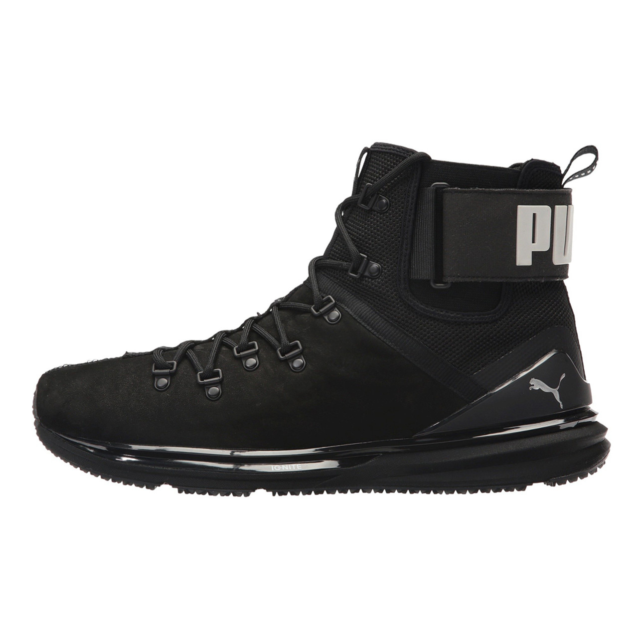 603a5a3a26be Puma Men s Ignite Limitless Boot Leather Puma Black - Shop now   Shoolu.com