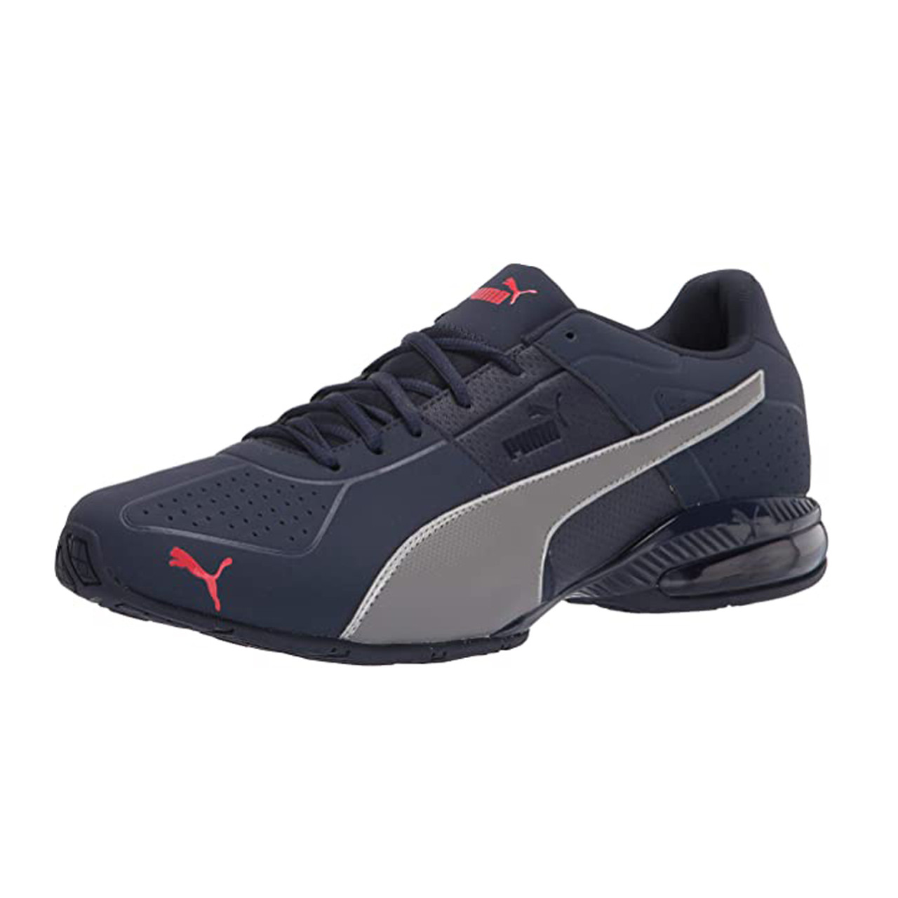 Puma Men's CELL Surin 2 Matte Training Shoe Peacoat/Castlerock/Red