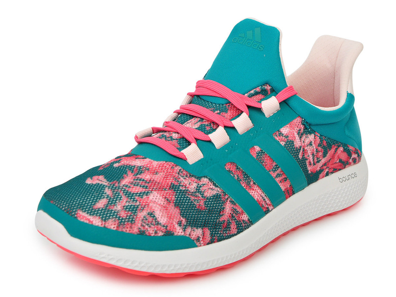 Adidas Women s CC Sonic Running Shoe Green Blush - Shop now   Shoolu.com 24679a1b4e63