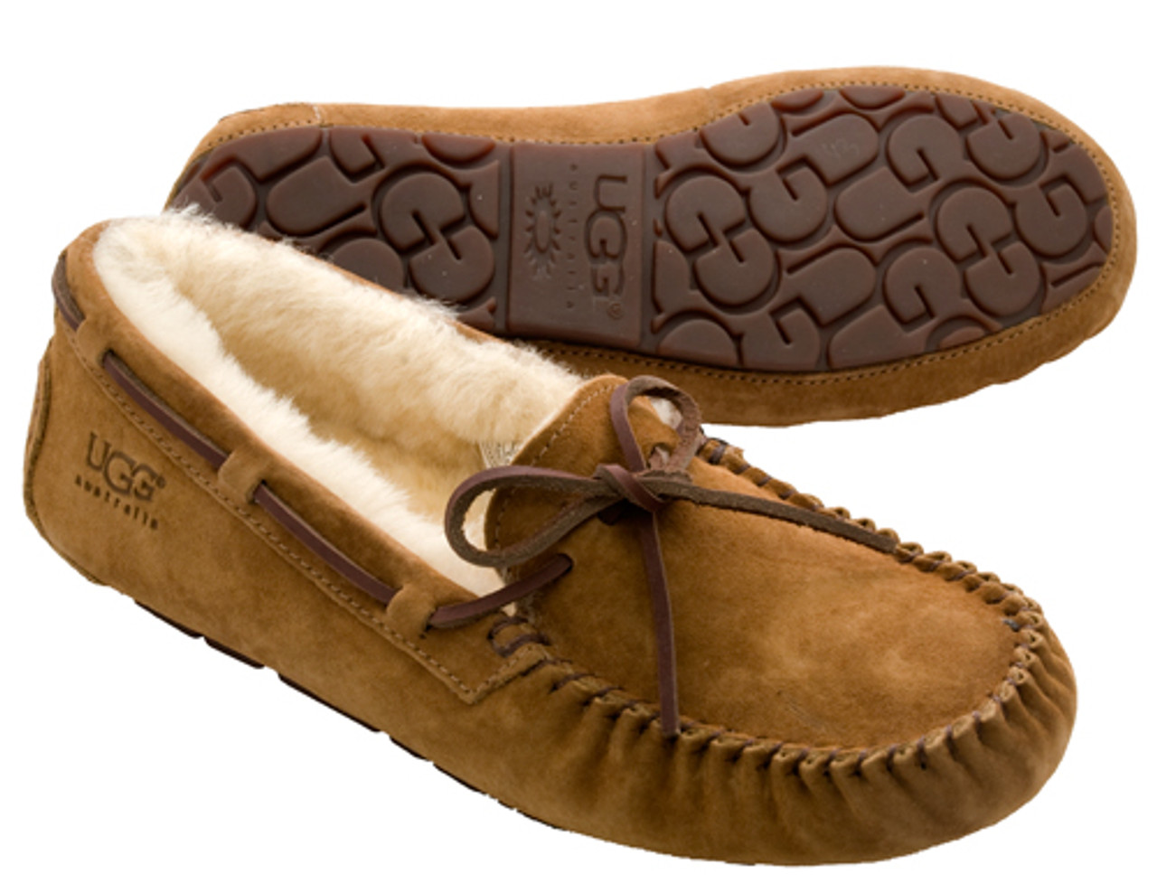 11292275ccd UGG Dakota Chestnut Ladies Slippers
