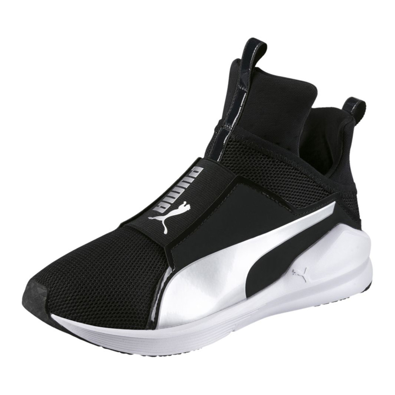 7ca91428924 Puma Women s Fierce Core Cross Trainer Black Silver - Shop now   Shoolu.com