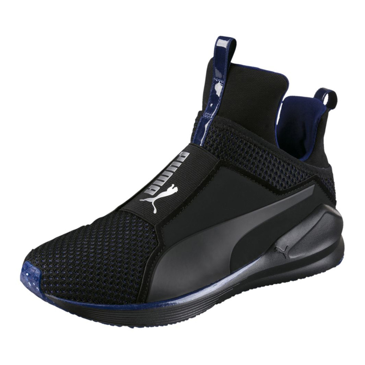 6dd690ae7181f1 Puma Women s Fierce Velvet VR Cross Trainer Black Blue - Shop now   Shoolu.