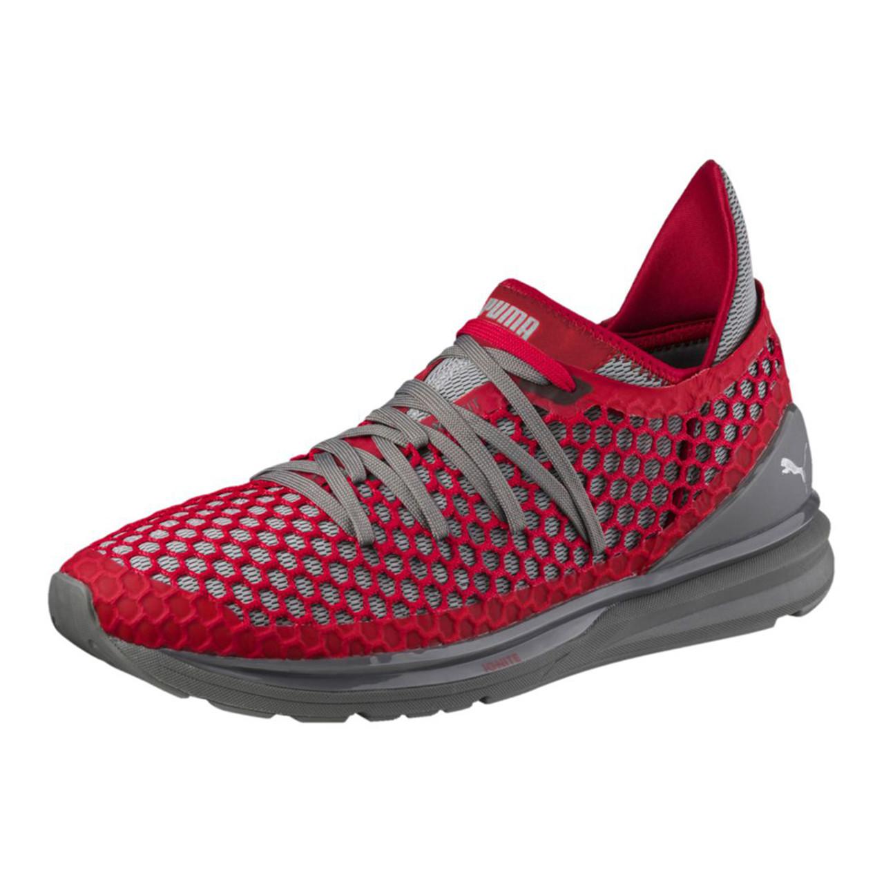 4d197eeb359a Puma Men s Ignite Limitless Netfit Sneaker Shade Toreador - Shop now    Shoolu.com