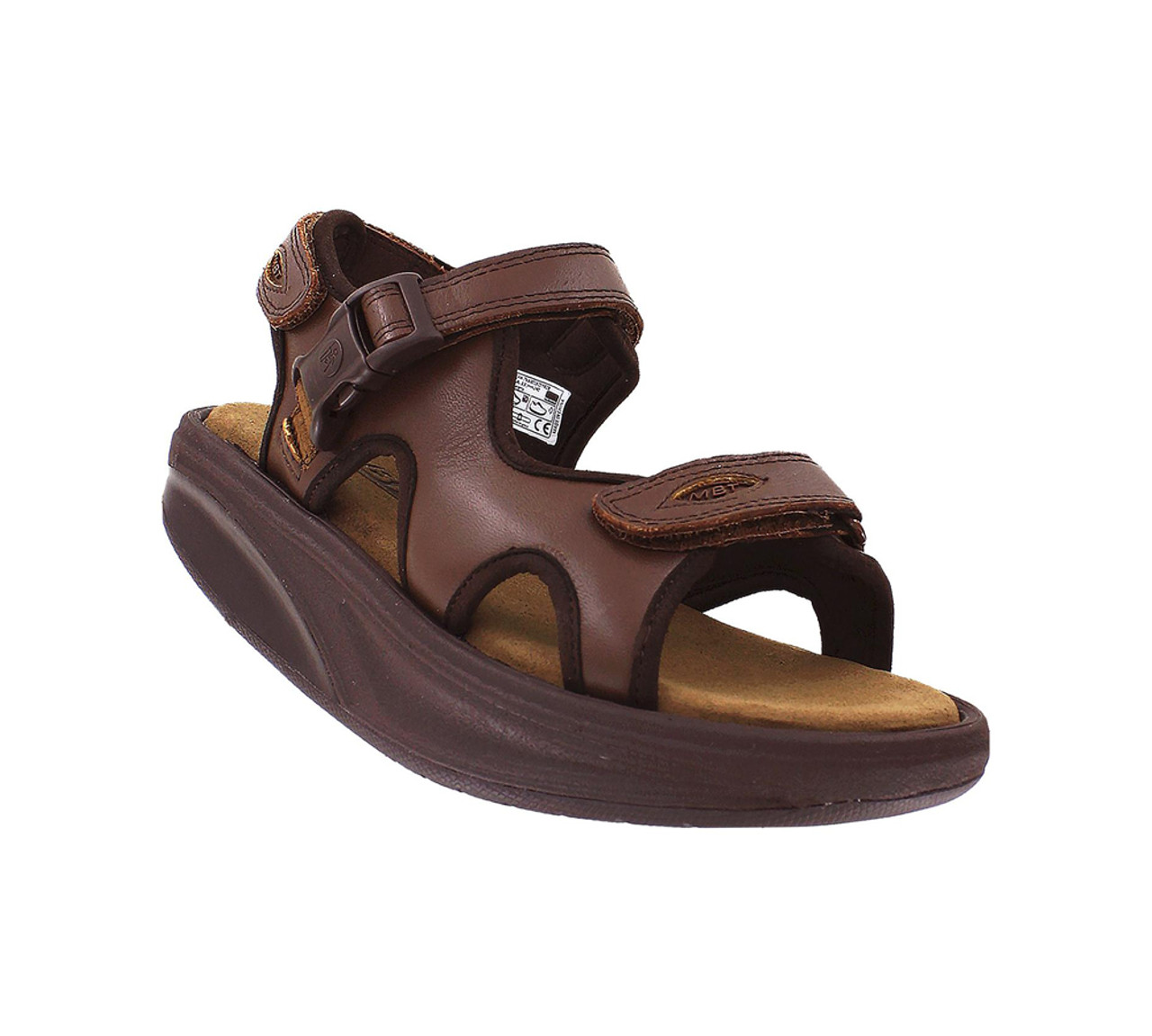 5b2976e8f33c MBT Women s Kisumu 3S Sandals Brown - Shop now   Shoolu.com