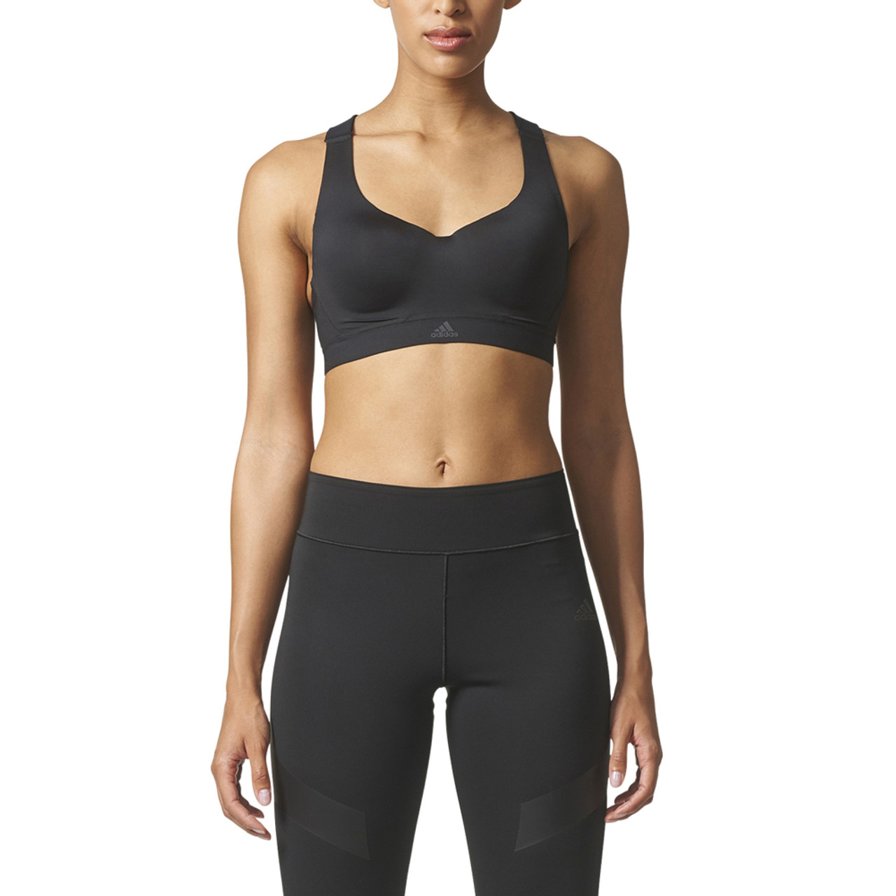 65ac498fae9 Adidas Women's Committed High Support Racerback Bra Black - Shop now @  Shoolu.com