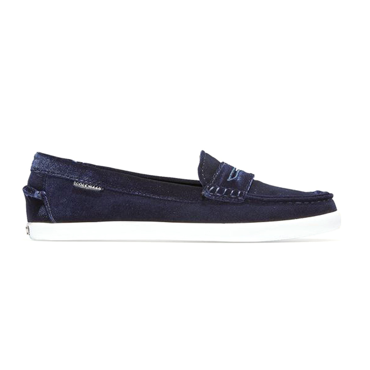 820b5e3d86c Cole Haan Women s Nantucket Loafer II Navy Velvet - Shop now   Shoolu.com