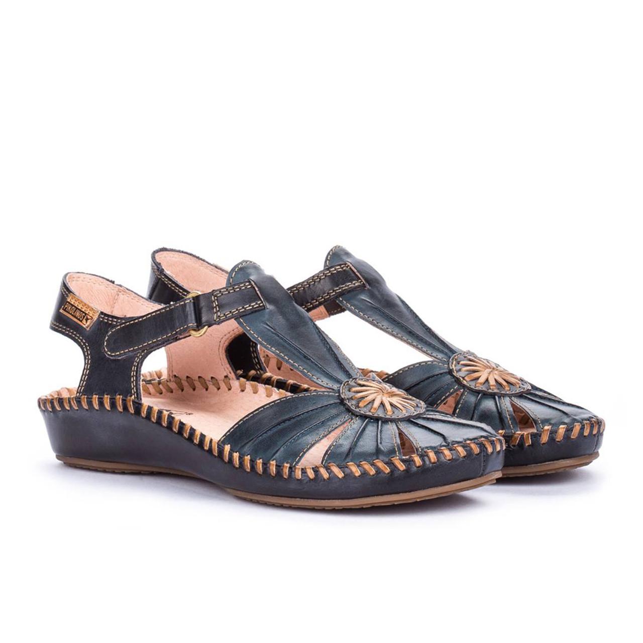 eafc30eb329 Pikolinos Women s P. Vallarta 655-8899C1 Sandal Ocean Navy Blue - Shop now