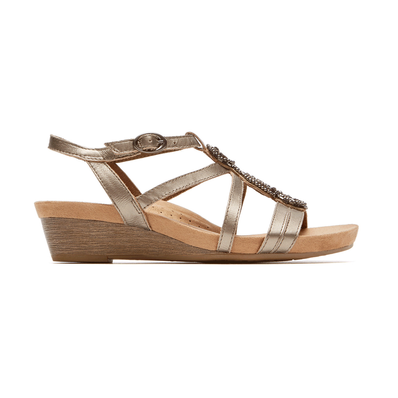 b57eec73b5c Rockport cobb hill womens hannah sandal metallic discount cobb jpg  1001x1001 Cobb hill sandals for women