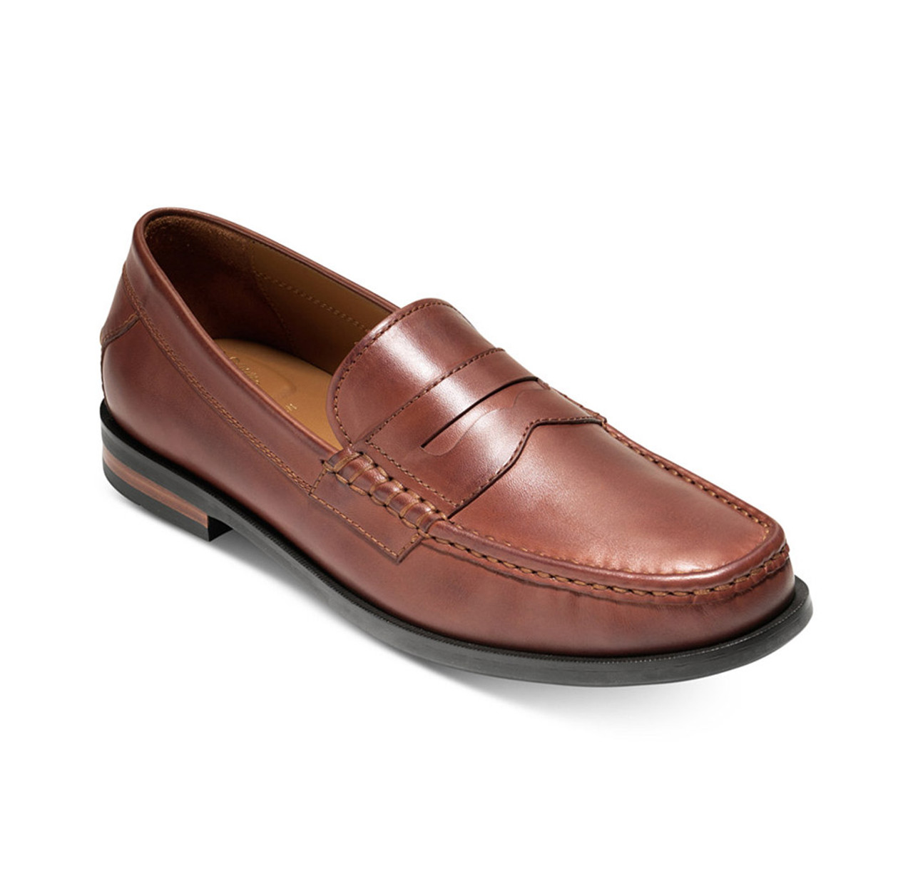e59cadf4861 Cole Haan Men s Pinch Friday Contemporary Penny Loafer Woodbury Handstain -  Shop now   Shoolu.
