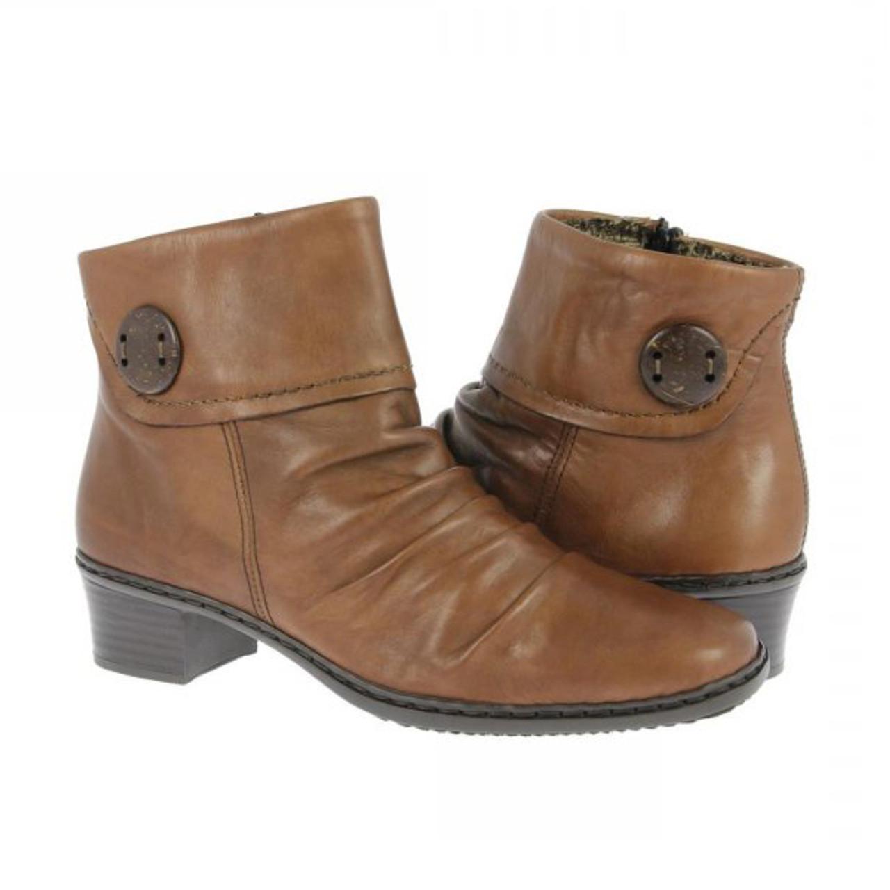 Rieker Kendra 63 Peanut Ladies Ankle
