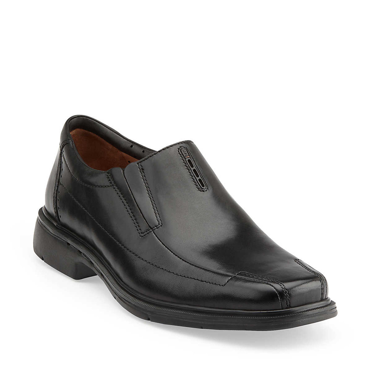 65948ca613f88 Unstructured By Clarks Un Sheridan Brown Mens Dress Loafers - Shop now    Shoolu.com