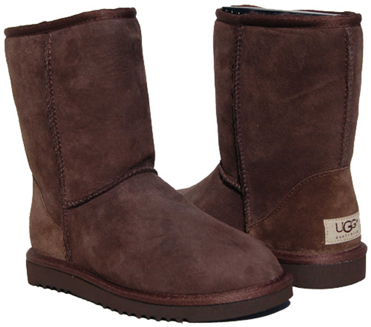 Ugg Classic Short Chocolate Ladies Boots