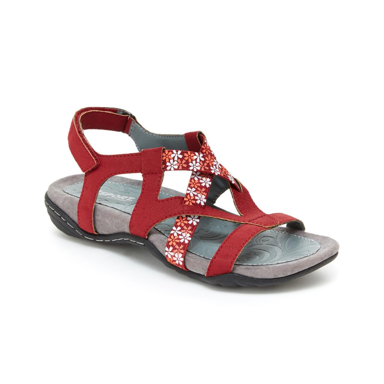 3a31afc7979 Jsport By Jambu Women s Woodland Sandal Red - Shop now   Shoolu.com