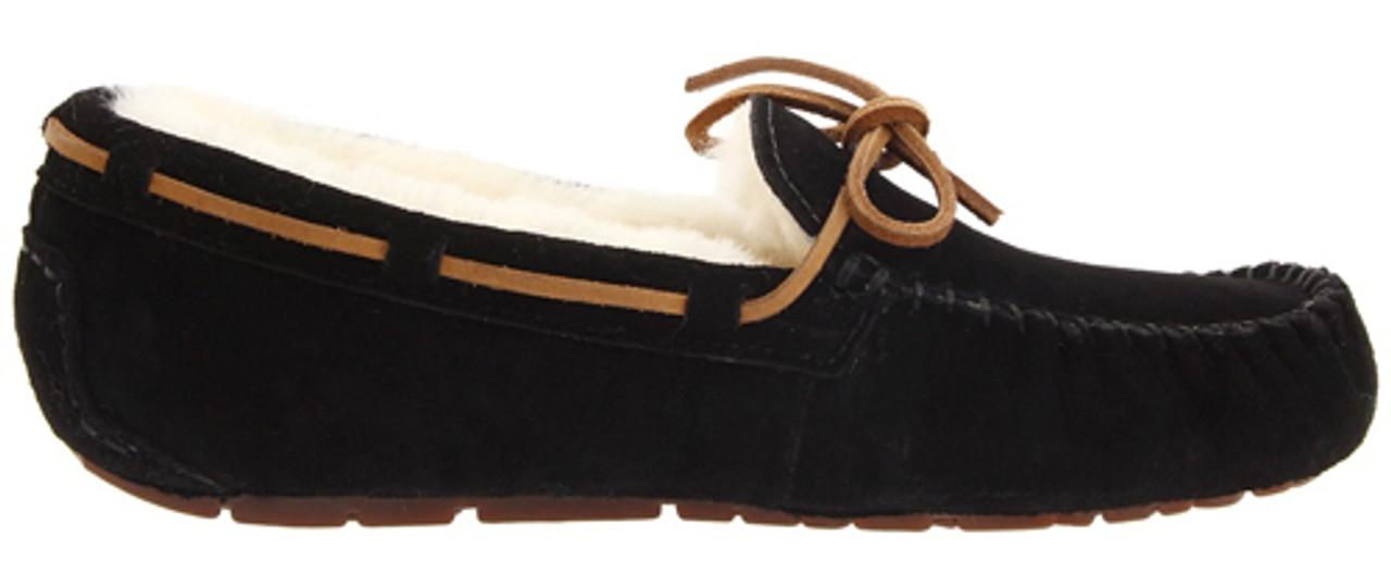 fe01eb62a3e New UGG Dakota Black Ladies Slippers