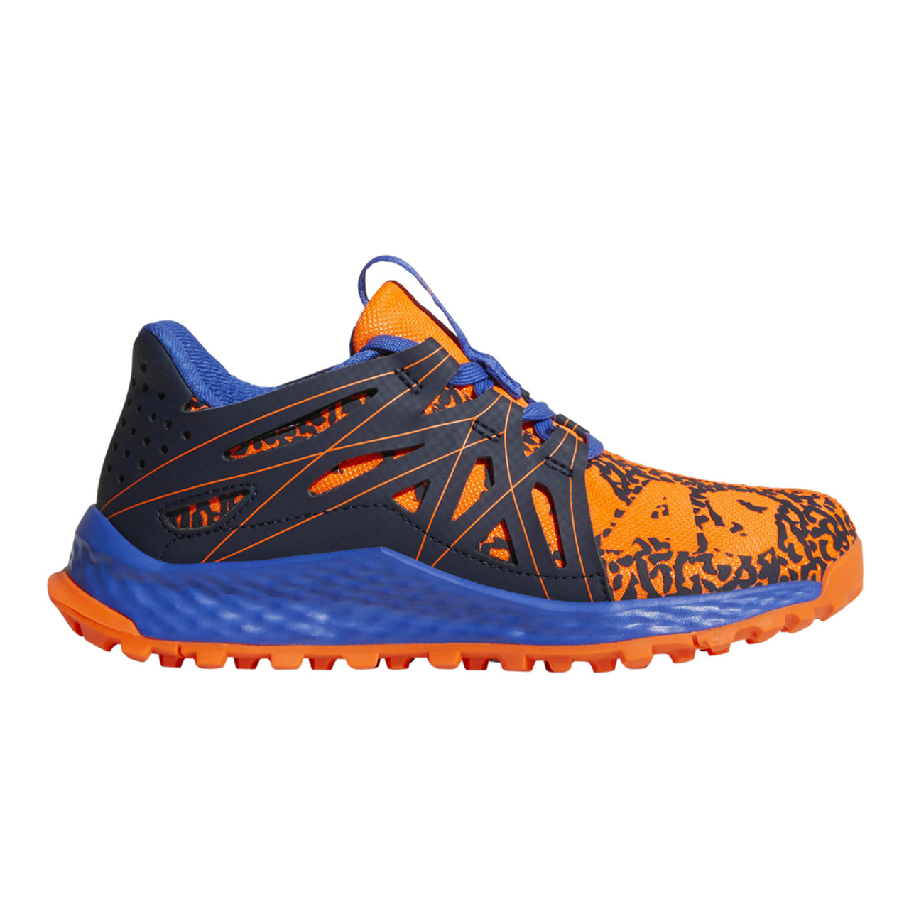 a1146955b Adidas Boy s Vigor Bounce Athletic Shoe Orange Navy - Shop now   Shoolu.com