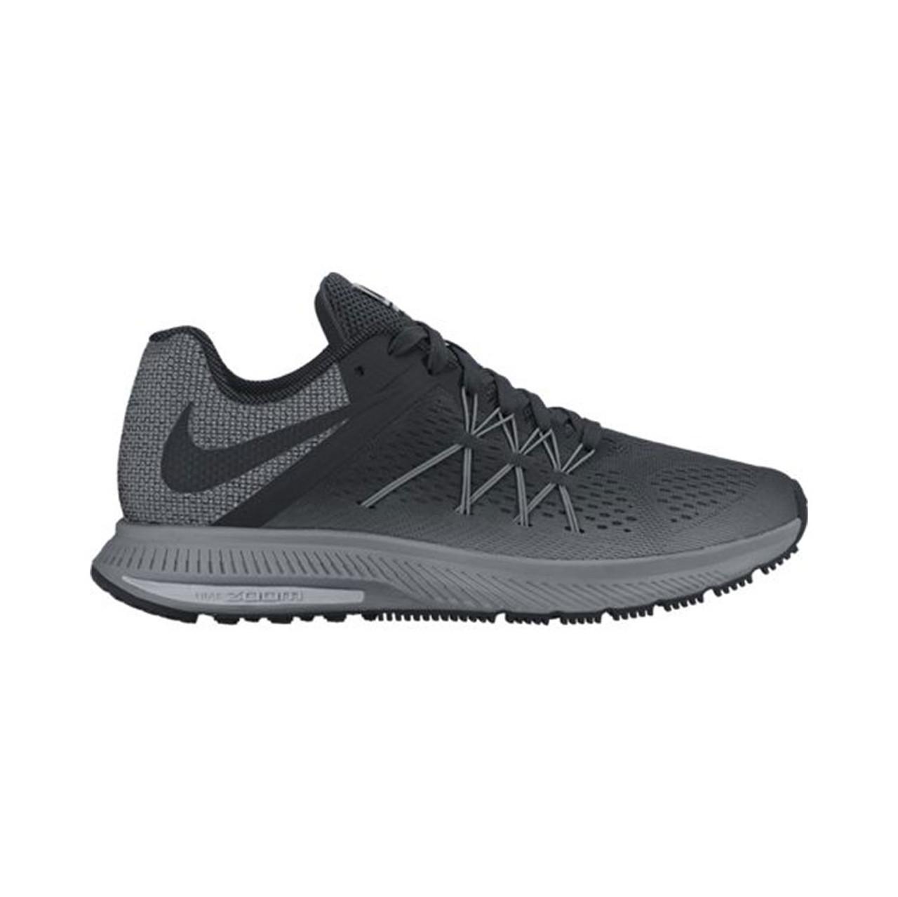 930abf802e84 Nike Men s Zoom Winflo 3 Shield Running Shoe Black Cool Grey - Shop now