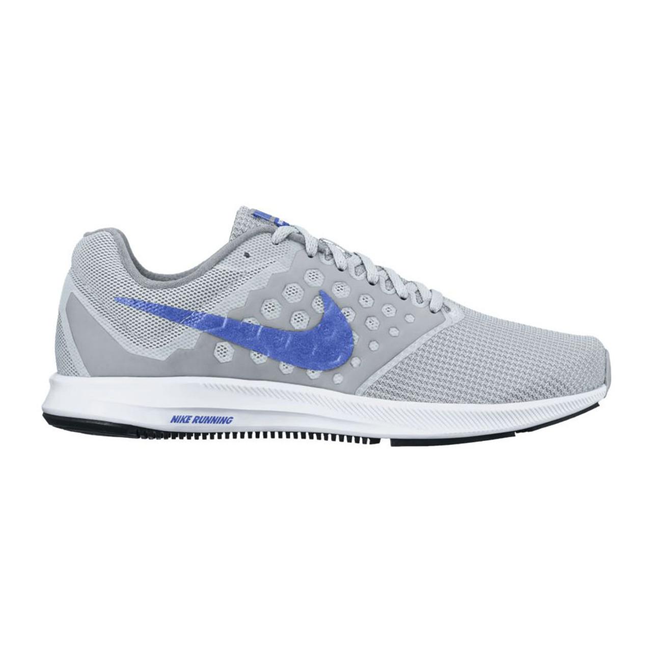 97d15419d0b95 Nike Women s Downshifter 7 Running Shoe Platinum Medium Blue - Shop now    Shoolu.