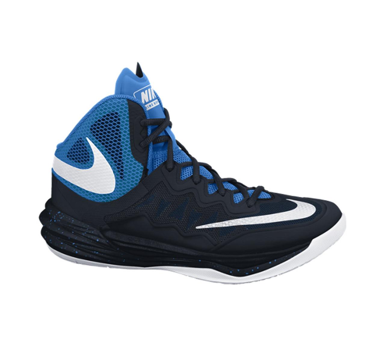new arrival 98aec dad51 Nike Men's Prime Hype DF II Basketball Shoe Black/Blue