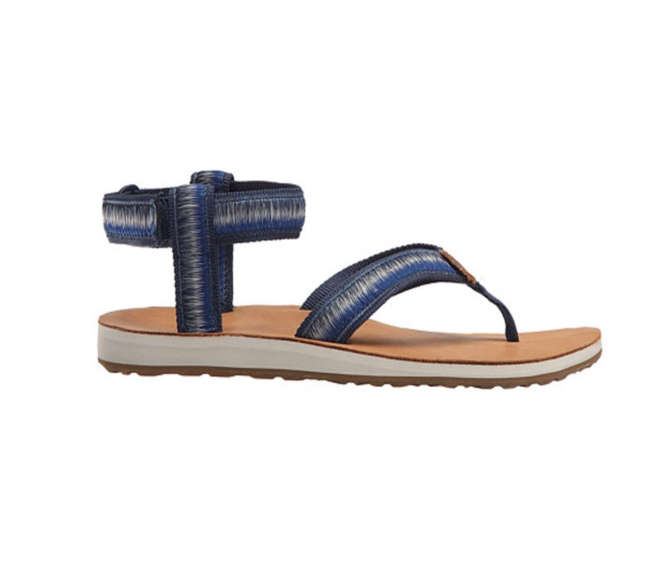 a970ddf5a4566 Teva Women's Original Sandal Ombre True Blue