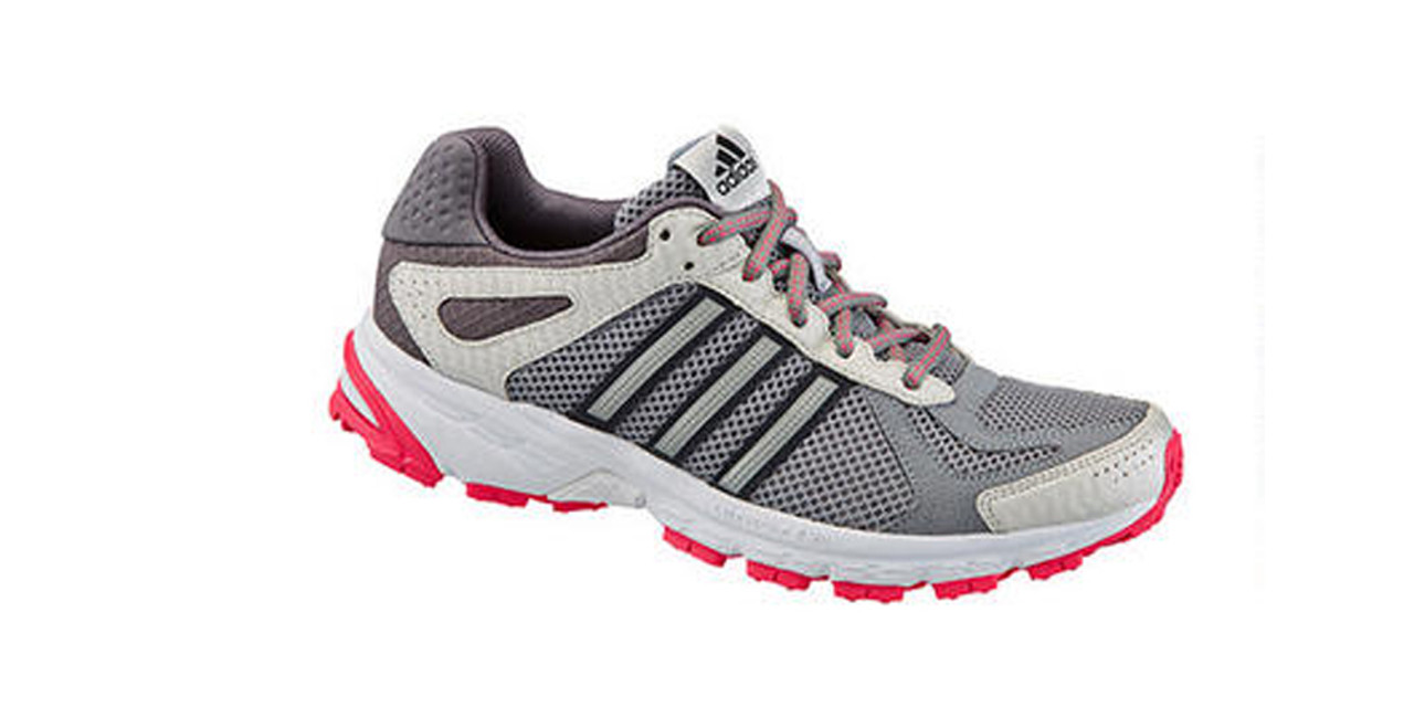 b37d5382229 Adidas Duramo 5 TR Grey Pink Ladies Trail Runners - Shop now   Shoolu.