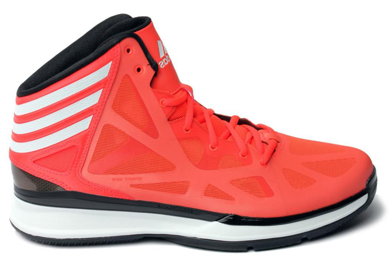 best loved fd443 f3310 Adidas Crazy Shadow 2 Infared White Mens Basketball Shoes - Shop now    Shoolu.