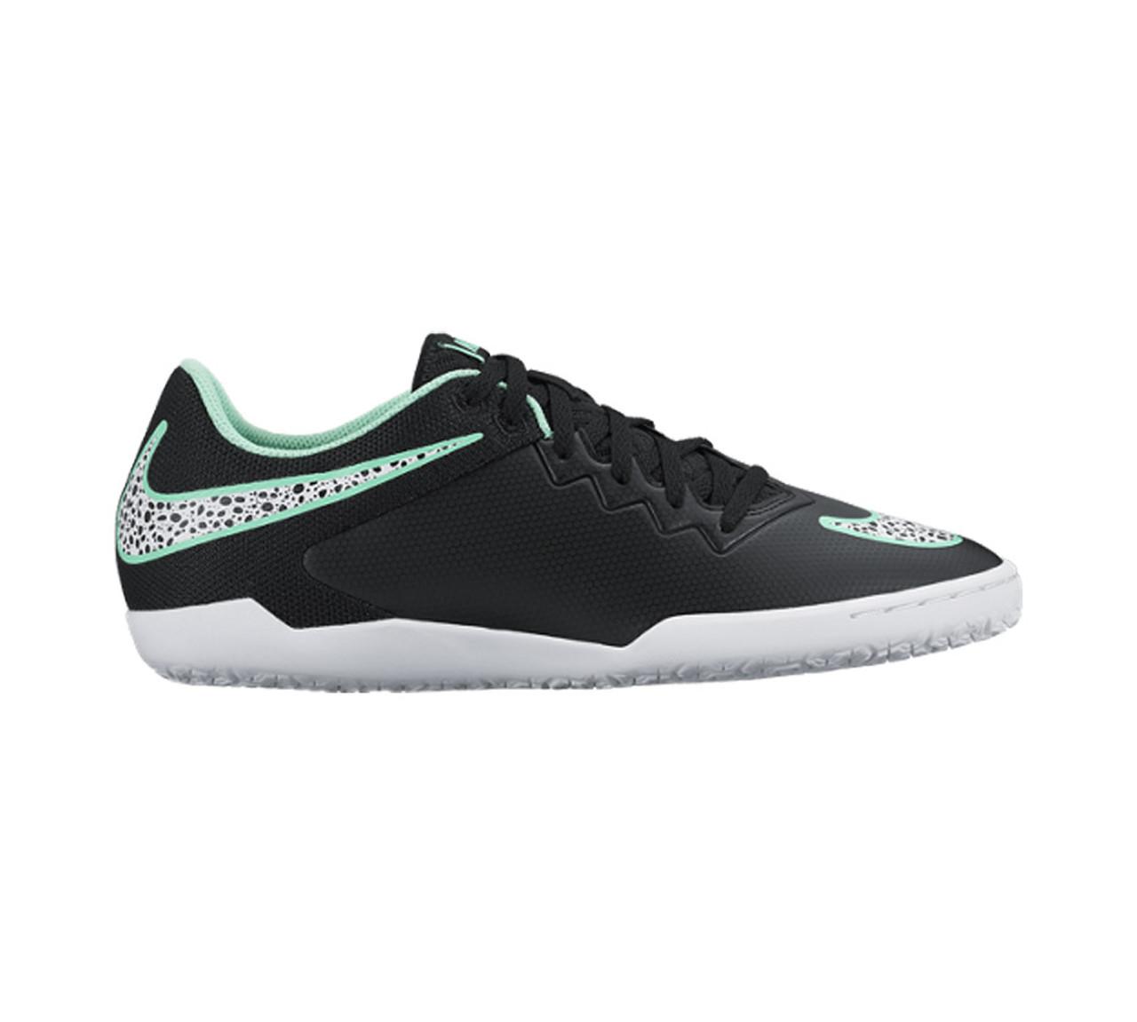 7a233c23df1 Nike Men s Hypervenomx Pro IC Soccer Shoe Black Green - Shop now   Shoolu.