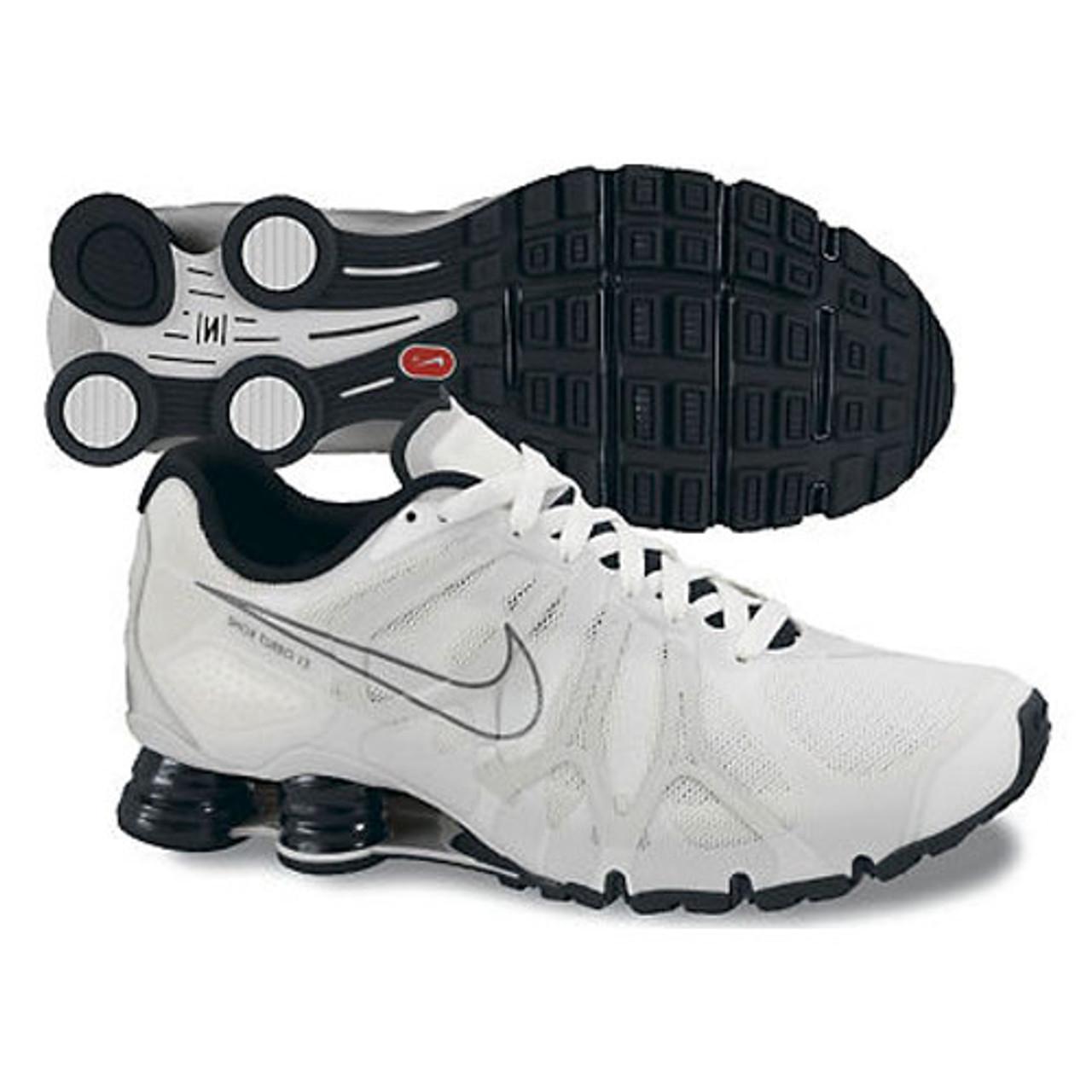 san francisco c76d9 08d37 Nike Shox Turbo + 13 White/Black