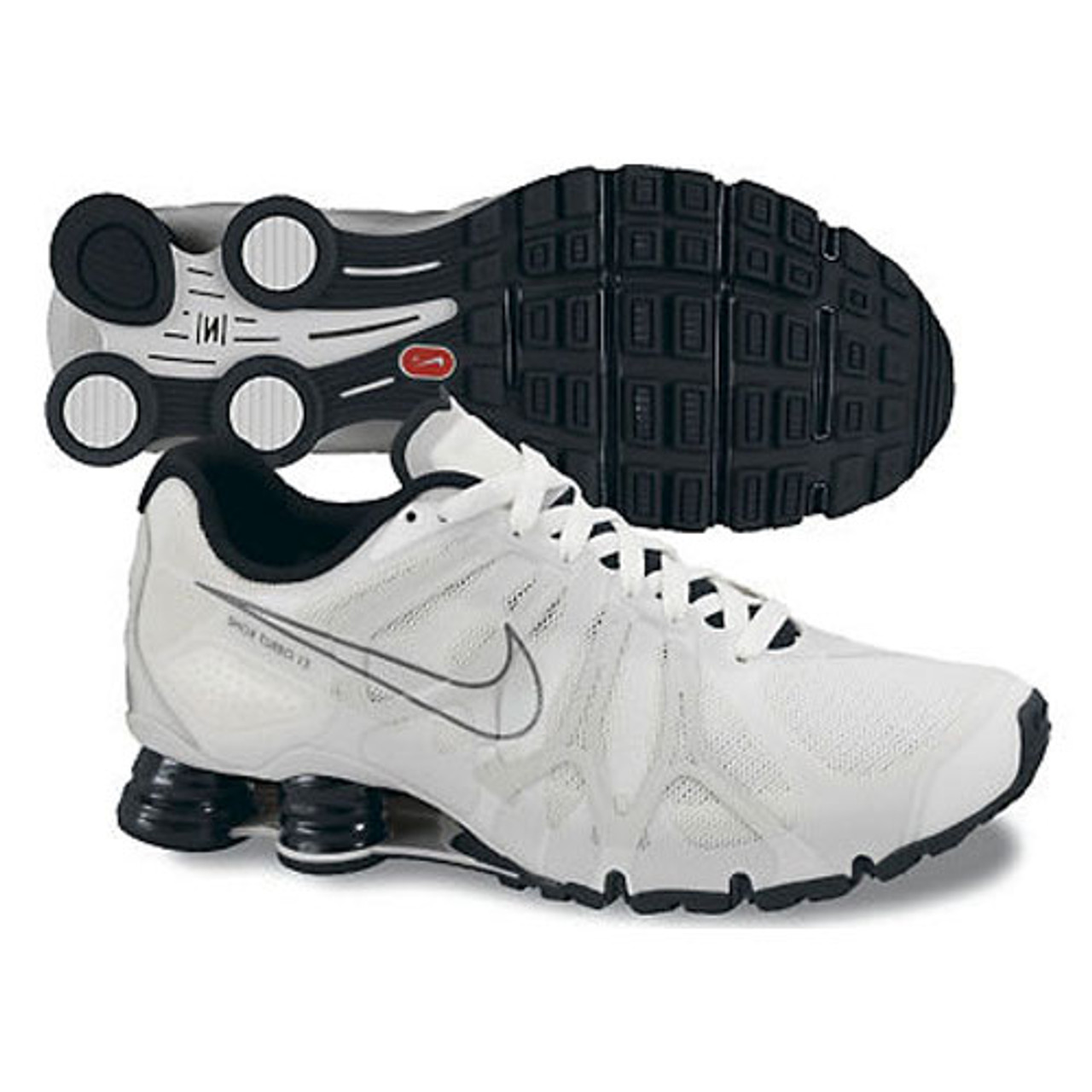 san francisco 52a4e 42495 Nike Shox Turbo + 13 White/Black
