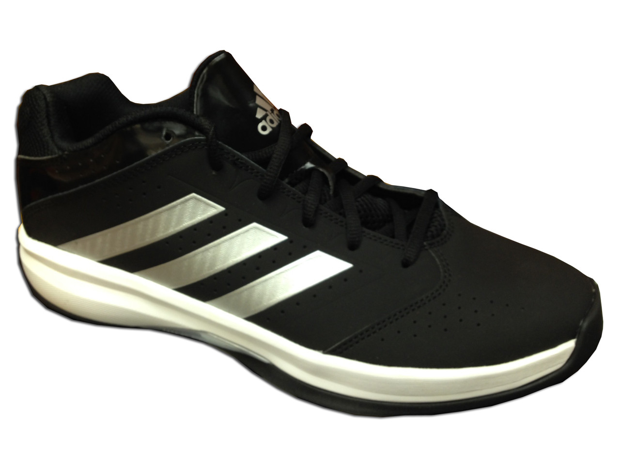 the latest 8178a 703b1 Adidas Men s Isolation 2 Low Basketball Shoes Black White - Shop now    Shoolu.