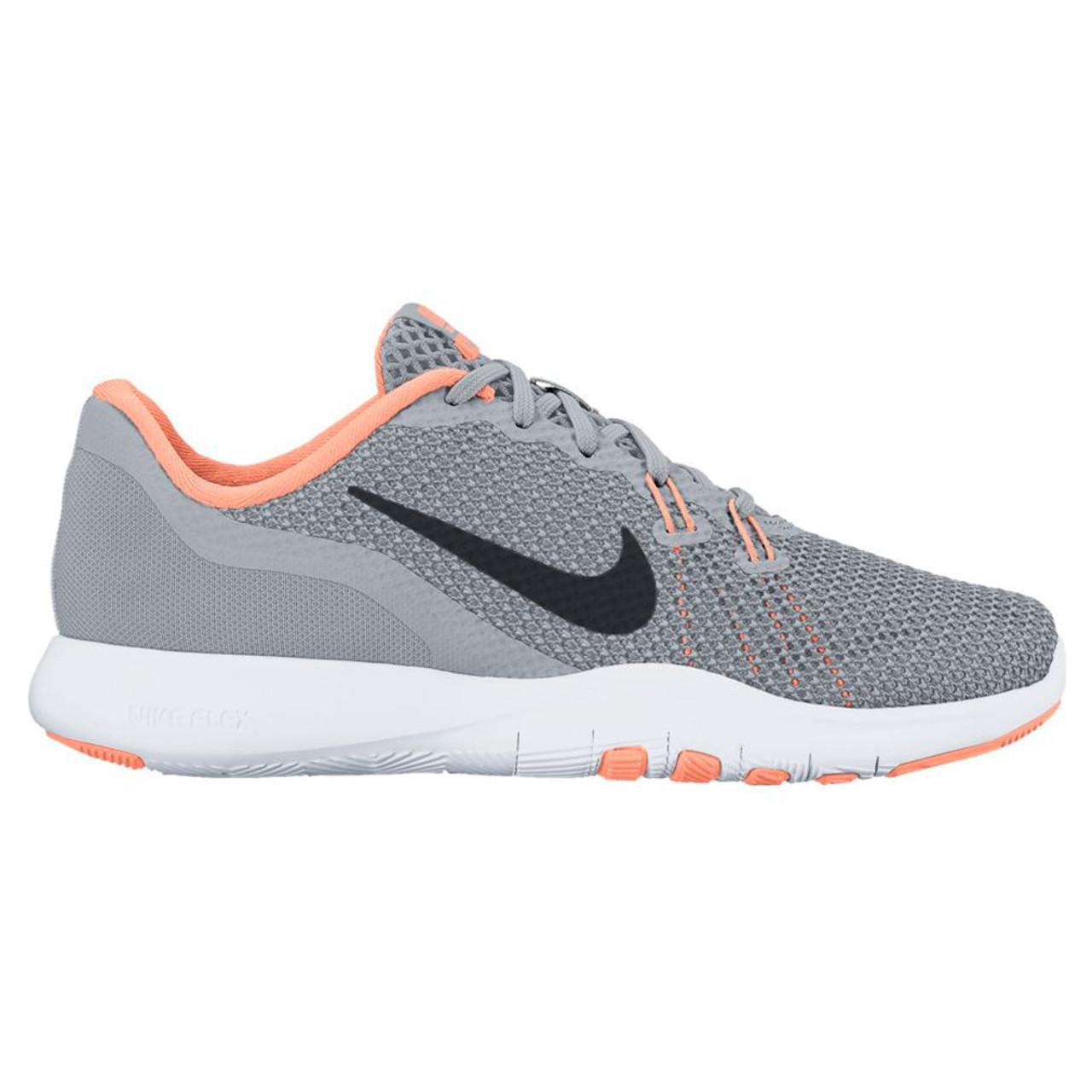 11e6f7b235f03 Nike Women s Flex Trainer 7 Cross Trainer Grey Sunset Glow - Shop now    Shoolu