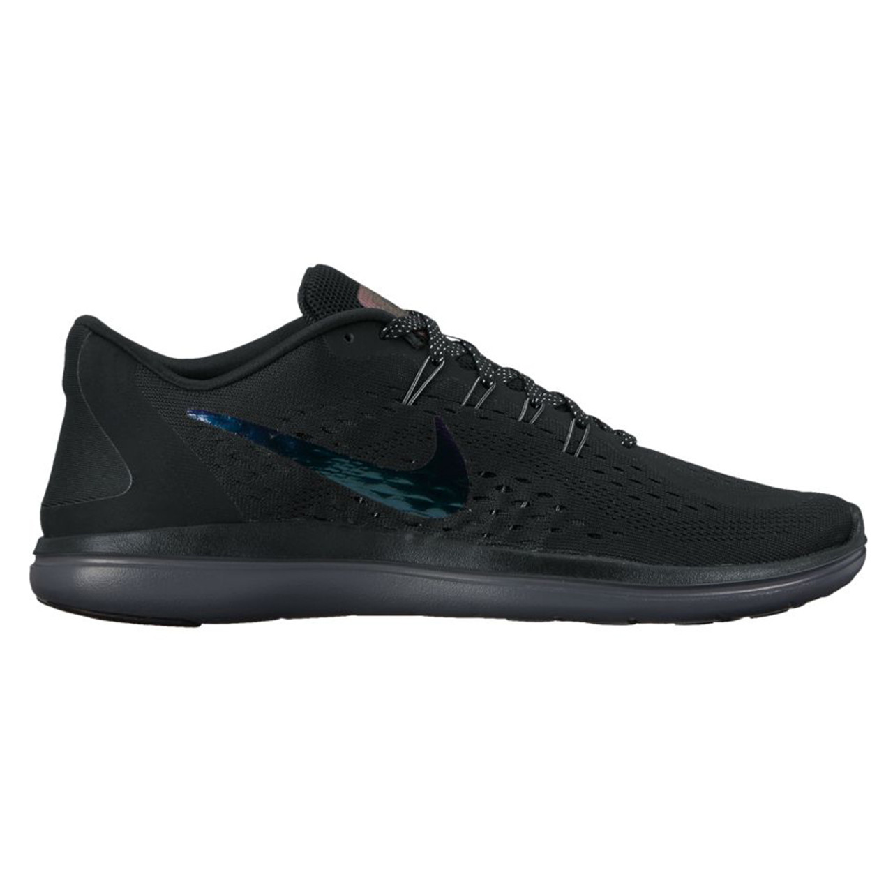 616d0e05783c Nike Women s Flex 2017 RN BTS Running Shoe Black Dark Grey - Shop now