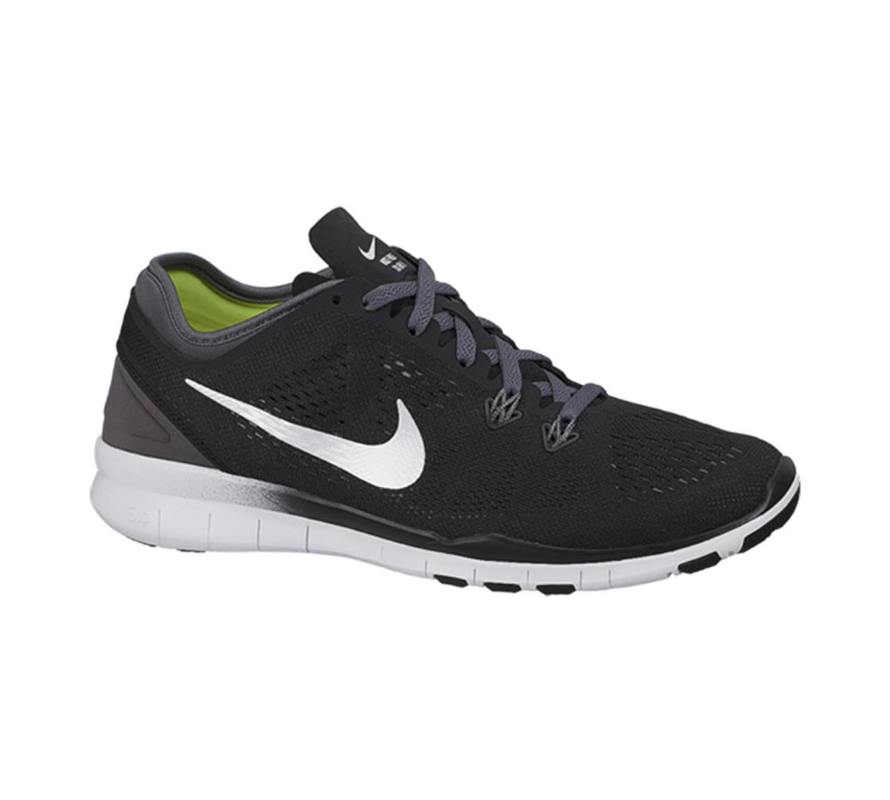 premium selection aa30c babf5 Nike Women's Free 5.0 TR Fit 5 Cross Trainer Black/Dark Grey