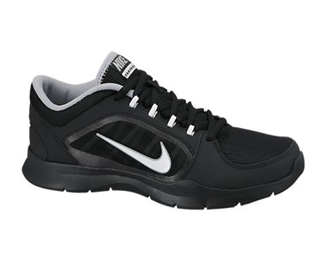 9a85b31c133d Nike Women s Flex Trainer 4 Cross Trainer Black White - Shop now   Shoolu.