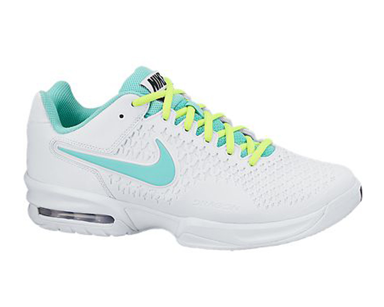 the latest a81f8 03275 Nike Women s Air Max Cage Tennis Shoes White Turquoise - Shop now   Shoolu.