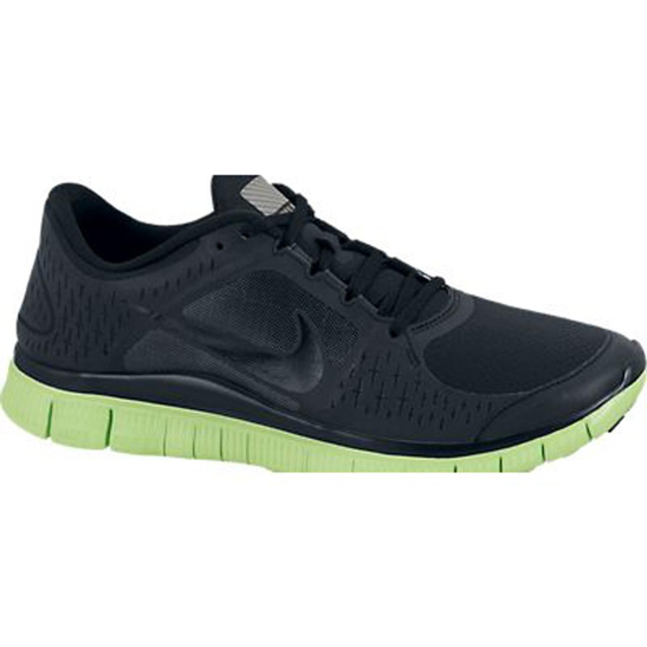 online store cee9d da033 New Nike Free Run +3 Shield Black Green Mens Running Shoes - Shop now