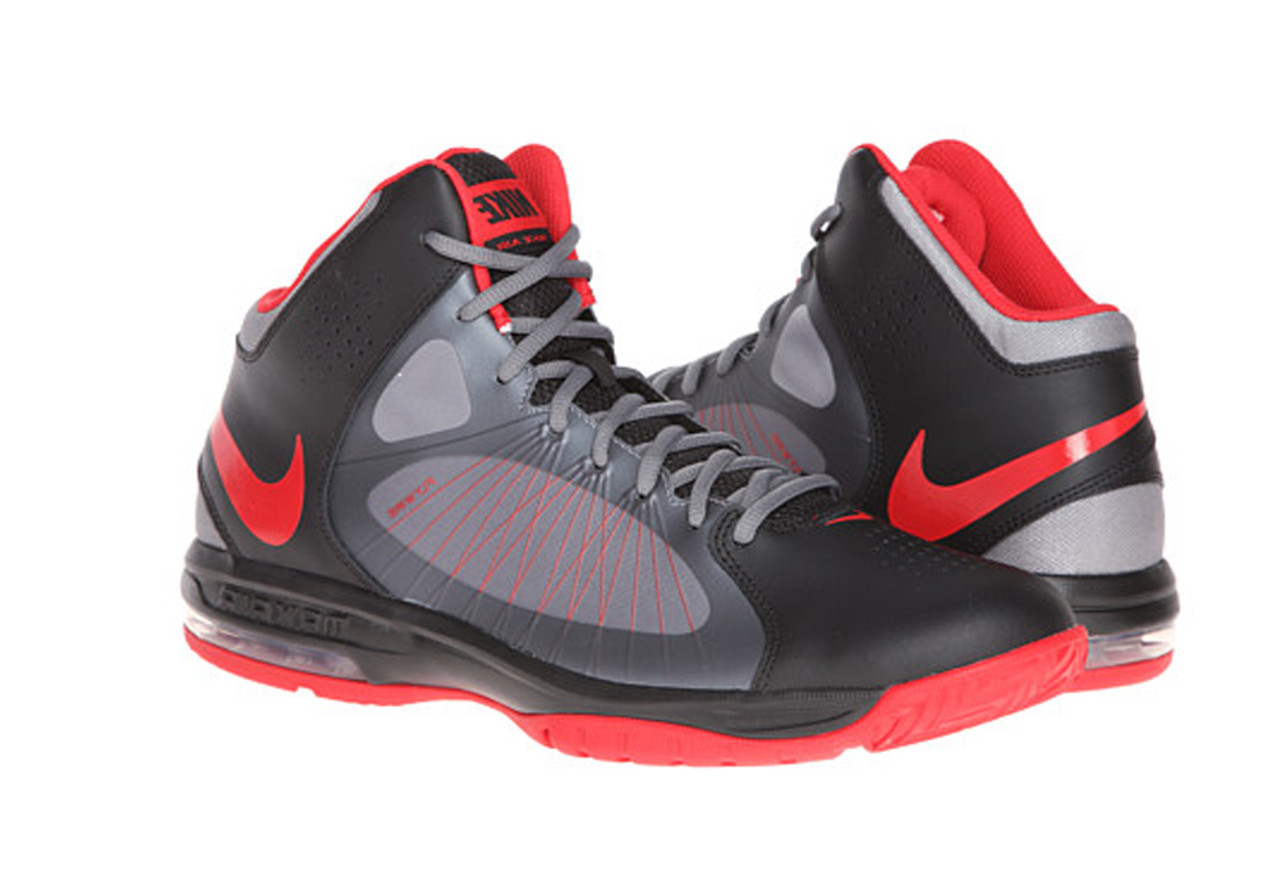 new styles 0ec37 ec2e1 Nike Men s Air Max Actualizer II Basketball Shoes Black Grey Red - Shop now