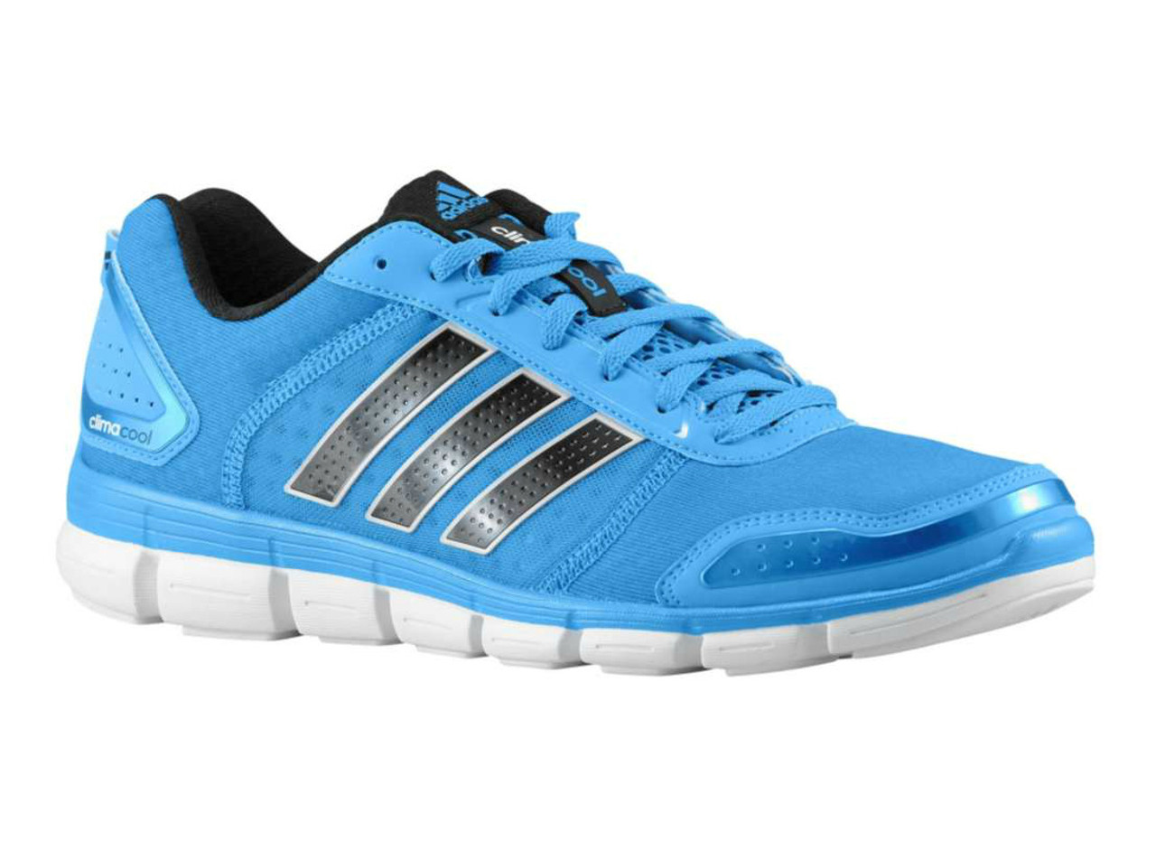 Adidas Men's Climacool Aerate 3 Running Shoes Solar Blue/White