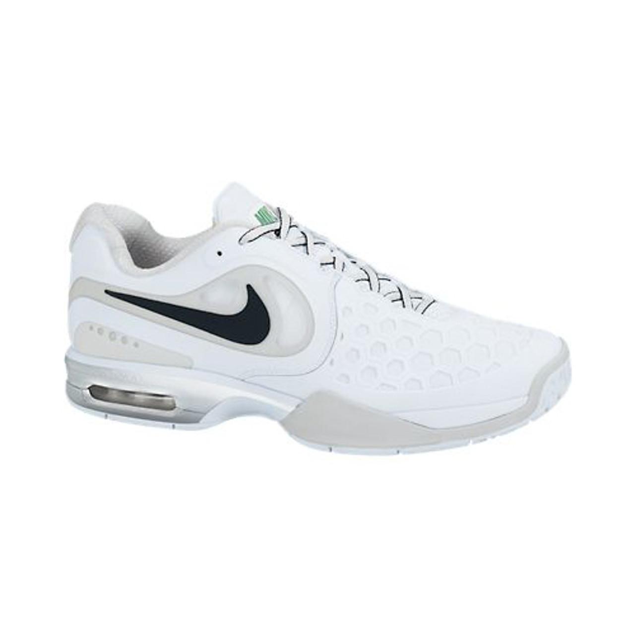 tanio na sprzedaż sprawdzić 100% jakości Nike Air Max Courtballistec 4.3 White/Platinum Mens Tennis Shoes