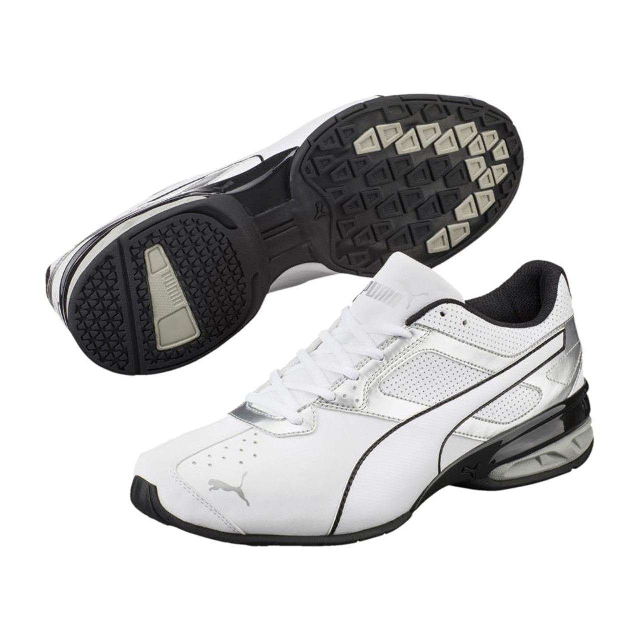 f687178dea8 Puma Men s Tazon 6 FM Running Shoe White Silver Black - Shop now