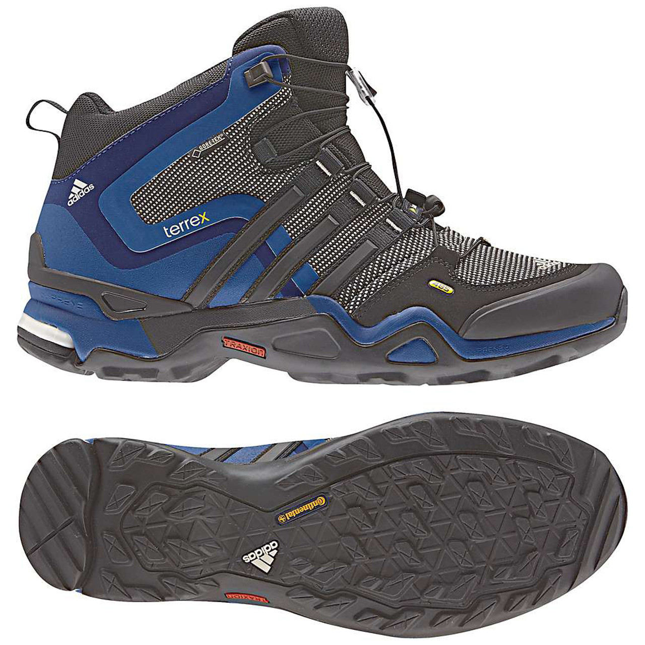 the best attitude 58625 f4ae5 Adidas Terrex Fast X Mid GTX Blue/Black Mens Hiking Boots