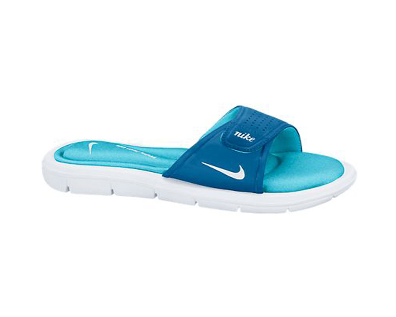 db68f9bbdfe8 Nike Women s Comfort Slide Blue Clearwater - Shop now   Shoolu.com