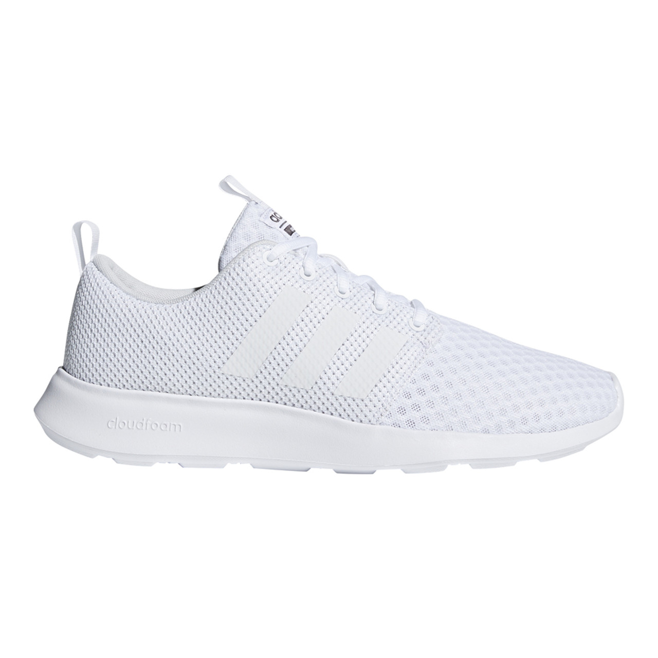 09d2f3914 Adidas Men s Cloudfoam Swift Racer Sneaker White Carbon - Shop now    Shoolu.com
