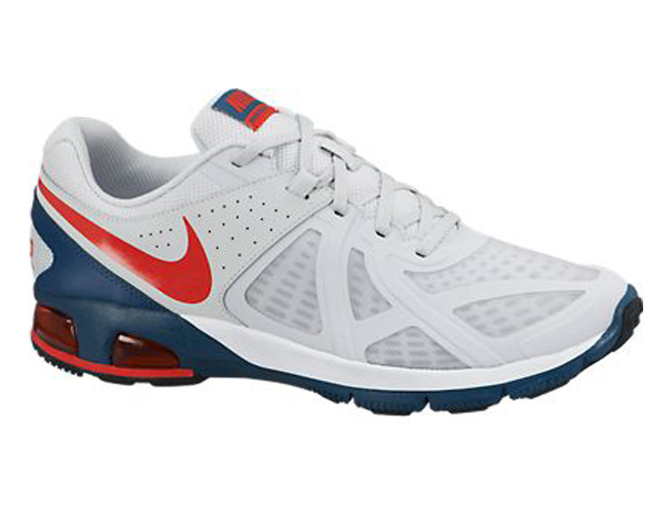 6e082b4d2f1f6 Nike Men's Air Max Run Lite 5 Running Shoes White/Red/Blue