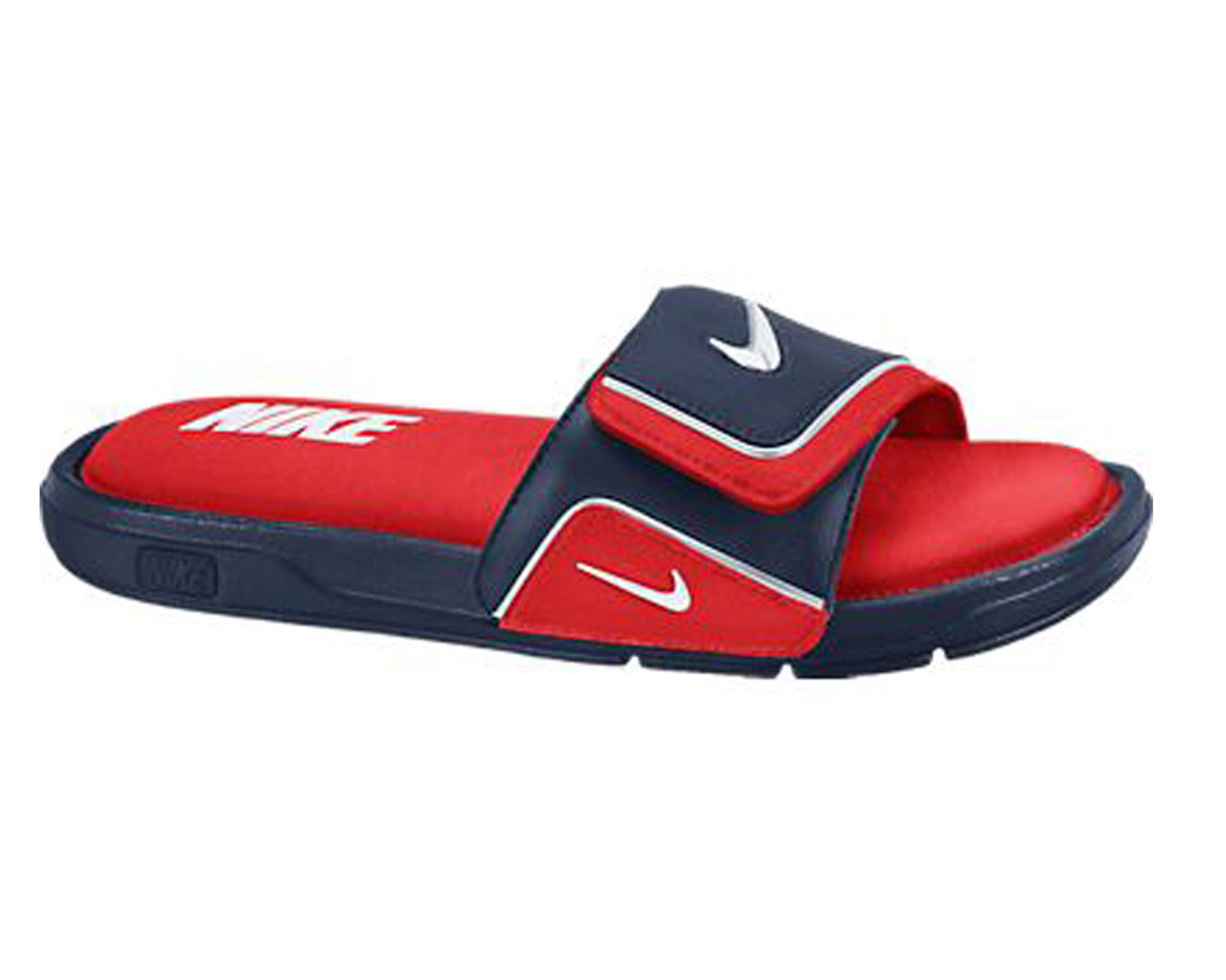 3dac024732fe8f Nike Men s Comfort Slide 2 Sandal Navy Red - Shop now   Shoolu.com
