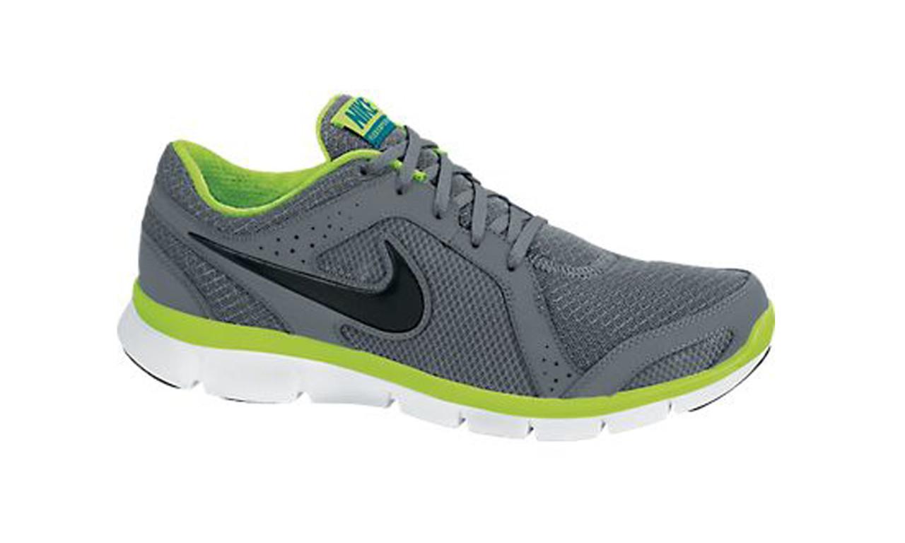 defec763d2ec2 Nike Flex Experience Run 2 Grey/Volt Mens Running Shoes