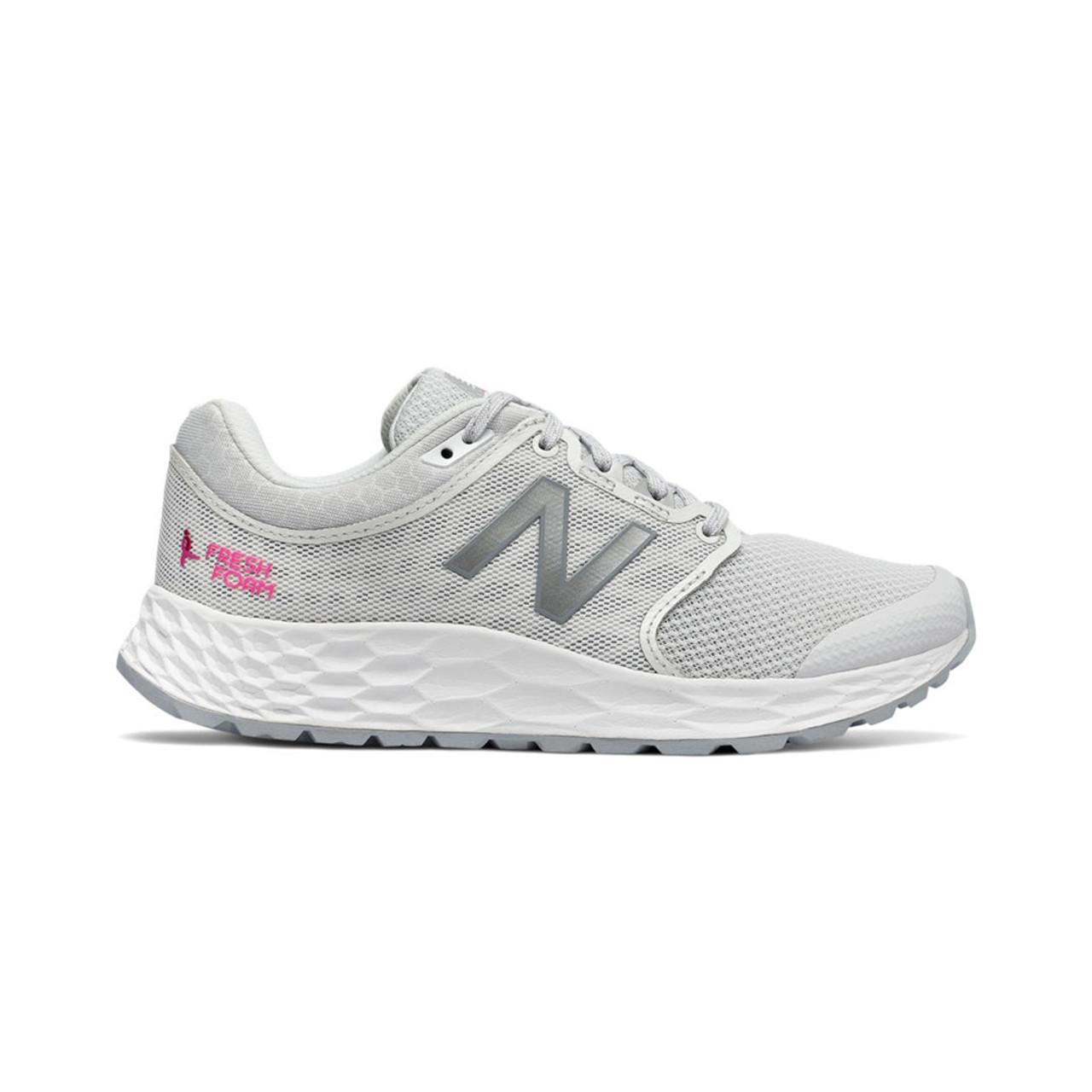 watch f367c 8c3a0 New Balance Women's WW1165KM Walking Shoe White/Pink Glo
